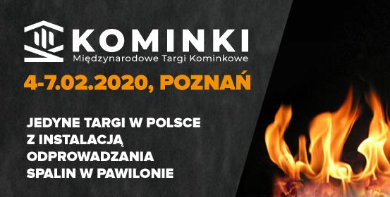 Międzynarodowe Targi Poznańskie- KOMINKI 2020