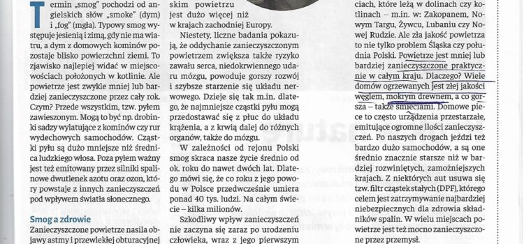 Wezwanie do sprostowania – Cartias Polska